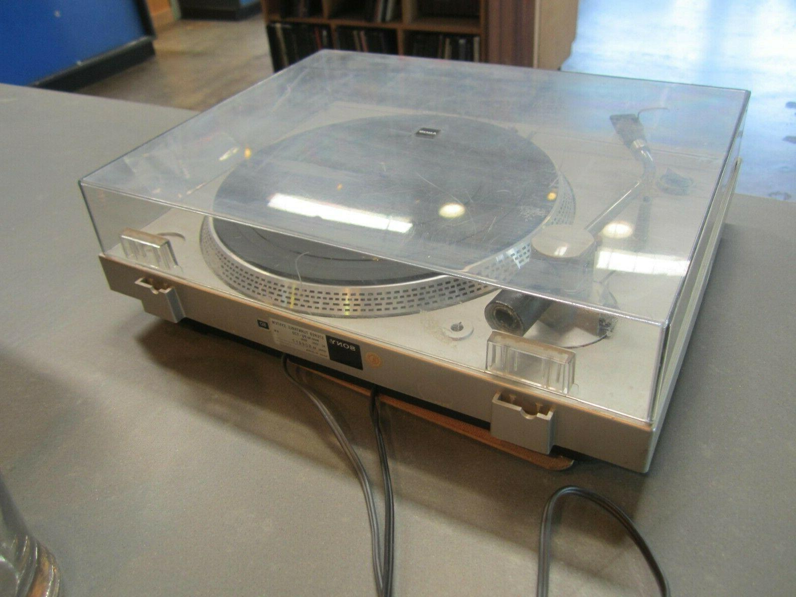 SONY PS-T20 Lid turntable record ONLY