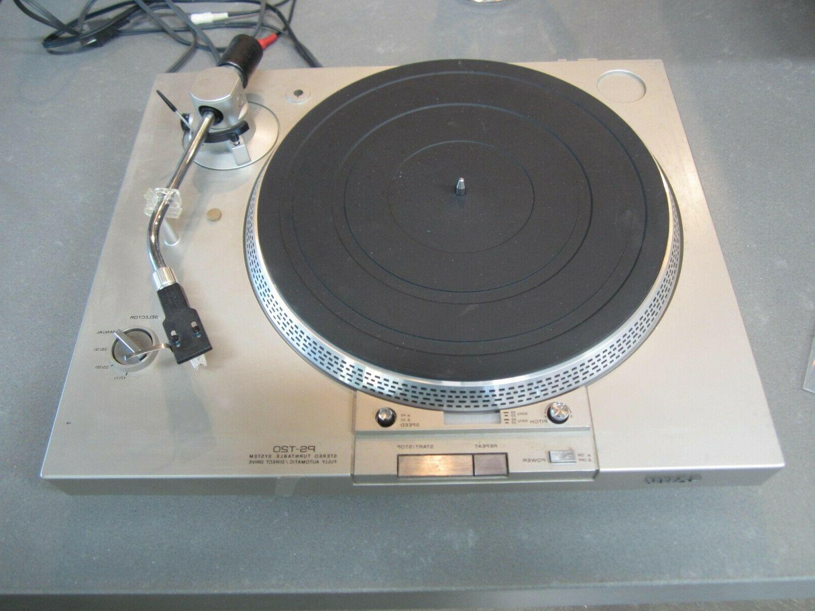 SONY Lid Shell NO HINGES turntable player COVER ONLY