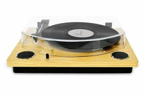 Record Player Vinyl Turntable Speakers Convert Vinyl