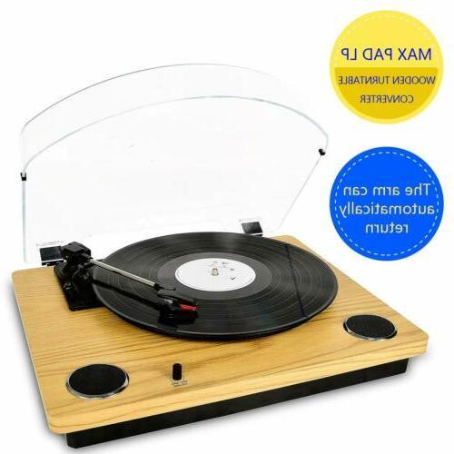 record player max pad vinyl turntable