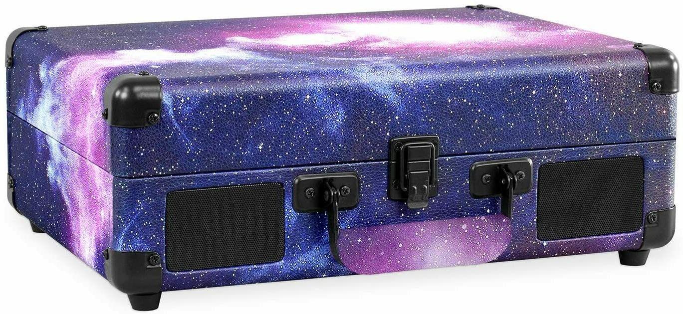 Victrola 3-Speed Bluetooth Suitcase Turntable - Galaxy