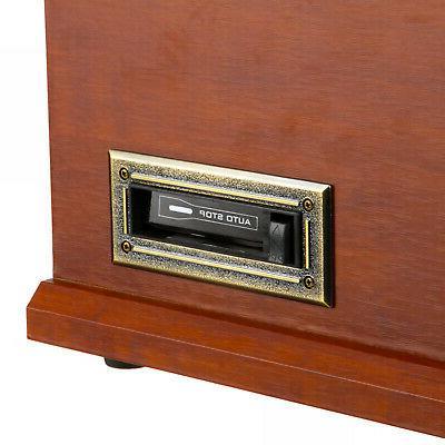 Record W 6-in-1 Nostalgic Bluetooth CD Cassette