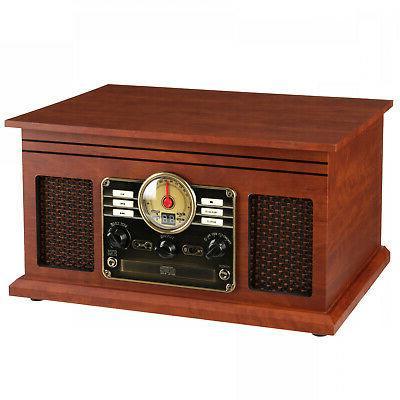 Record 6-in-1 Nostalgic CD Radio