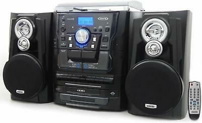 Jensen Stereo System with Player, 3 CD Changer Cassette Recorder