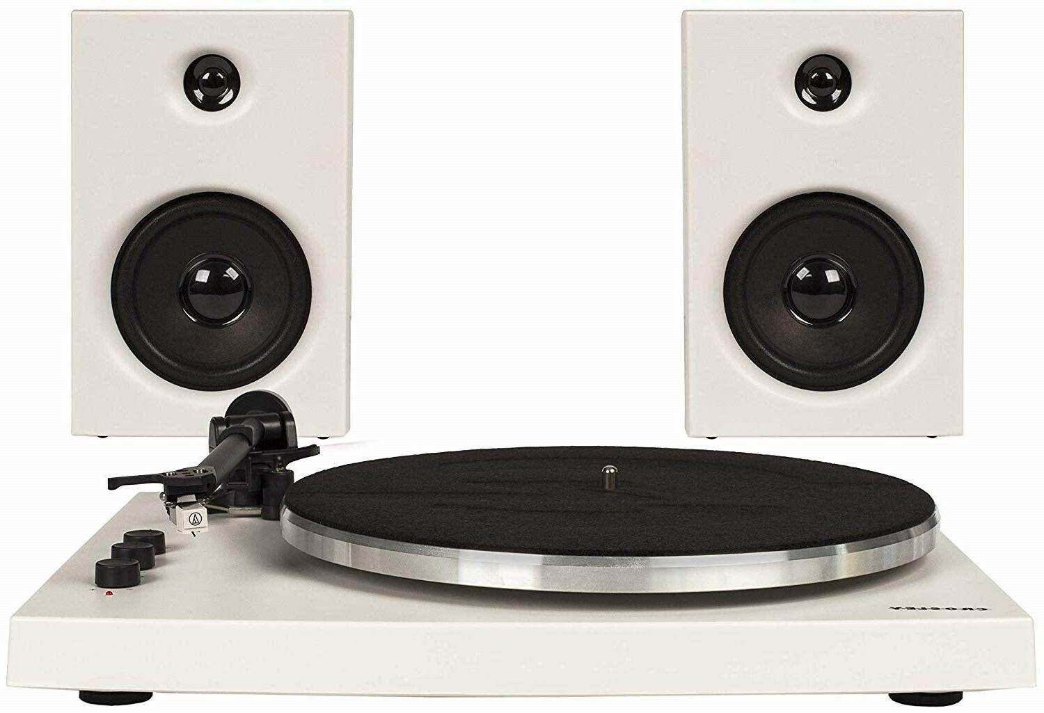 Crosley T150A-WH 2 Speed Bluetooth Turntable