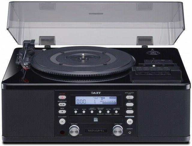 Teac CD RECORDER, Player, Input & AM/FM