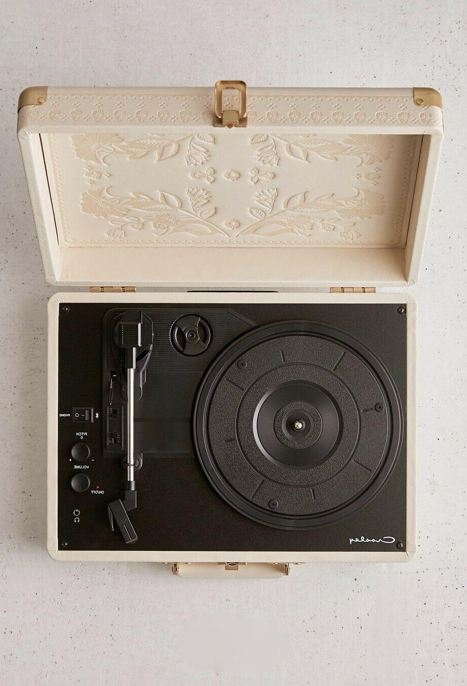Urban Outfitters Crosley Record Player Bluetooth Flora