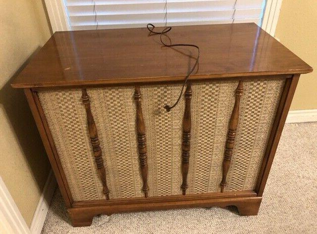 vintage 1950s phonograph cabinet record player stereophonic