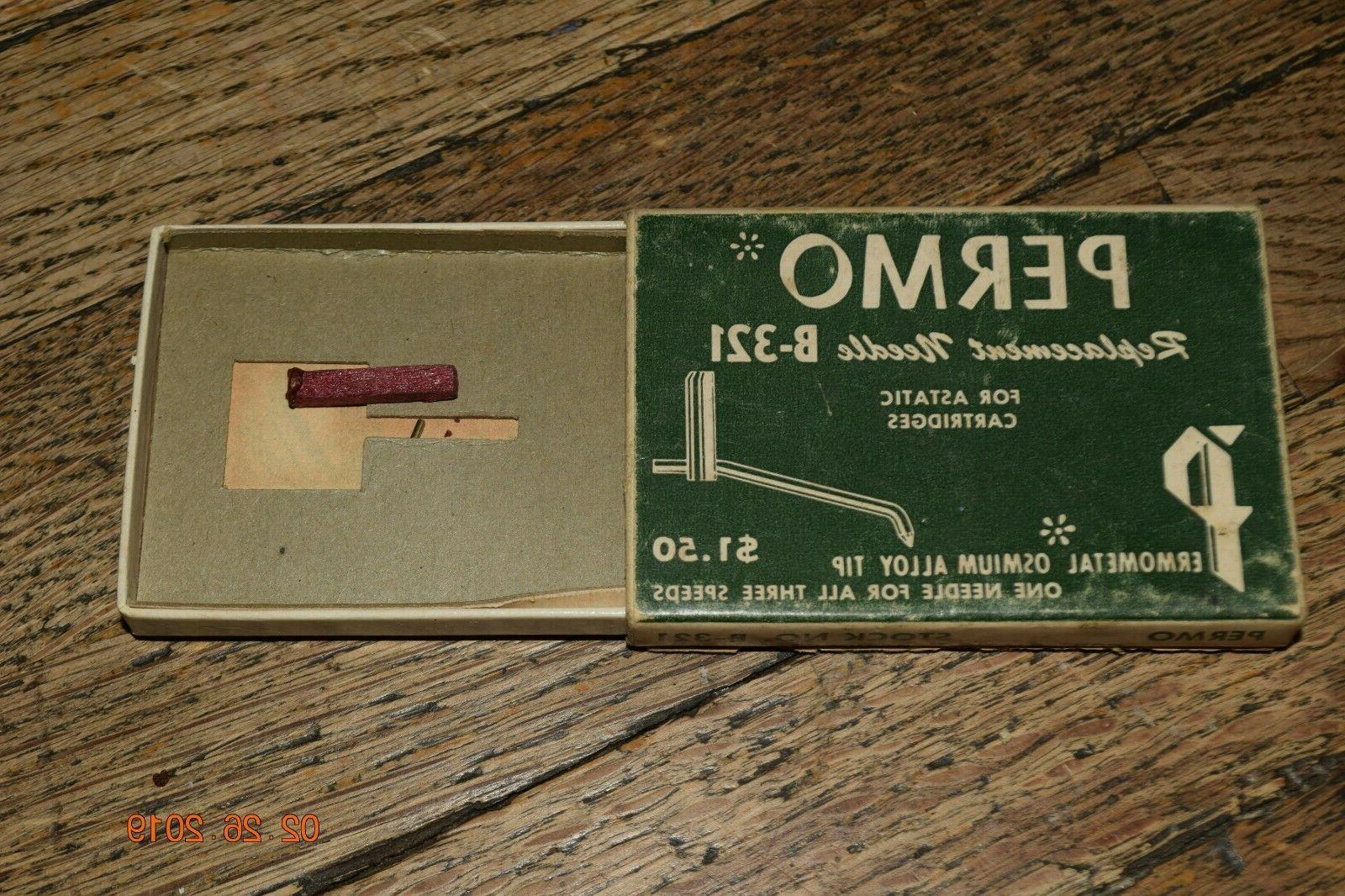 vintage nos permo replacement needle b 321
