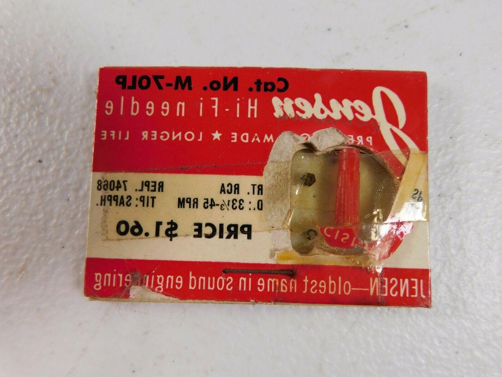 vintage record player needle m70lp