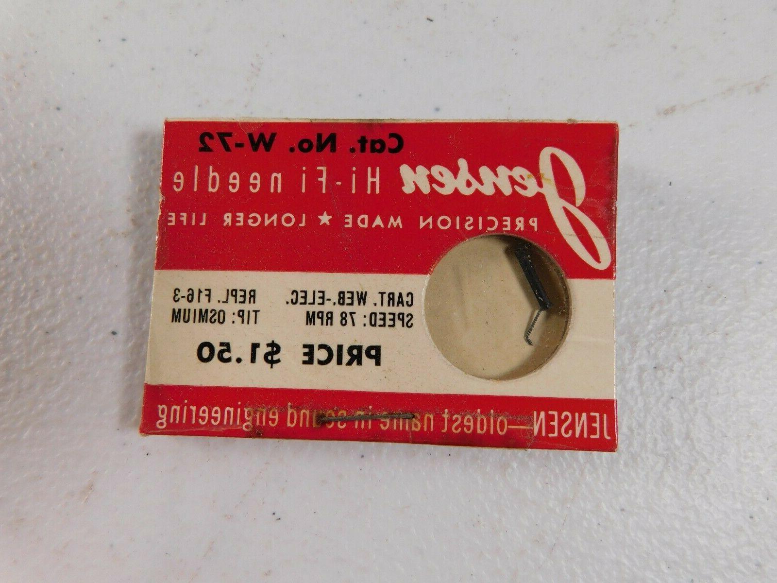 vintage record player needle w72