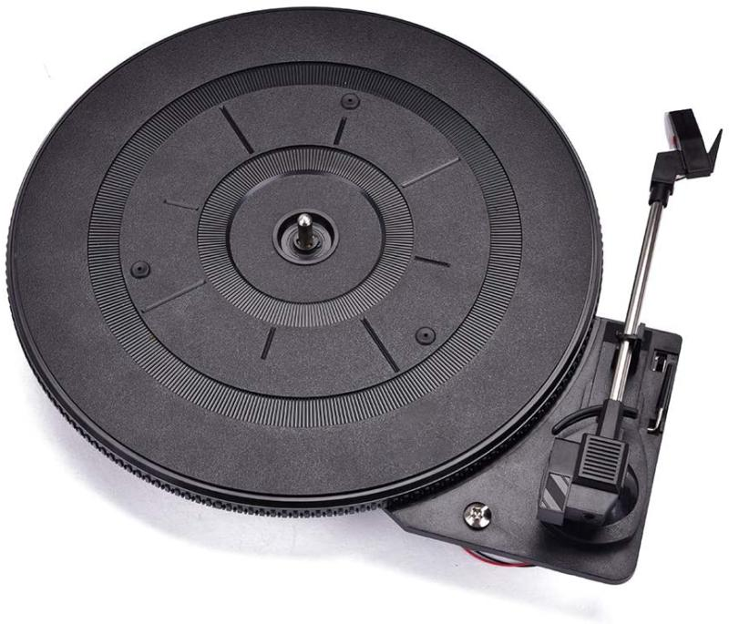 vinyl lp record player turntable for audio