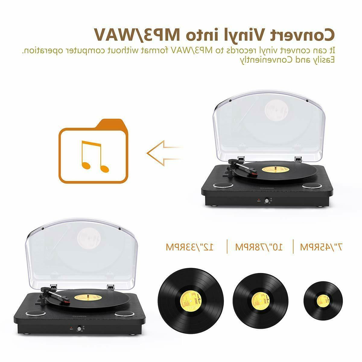Vinyl Record Player Speed Player 2