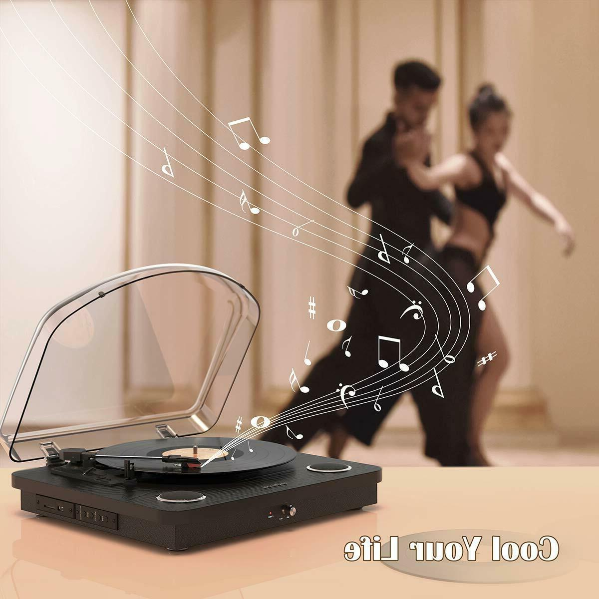 Vinyl Speed Record Player with