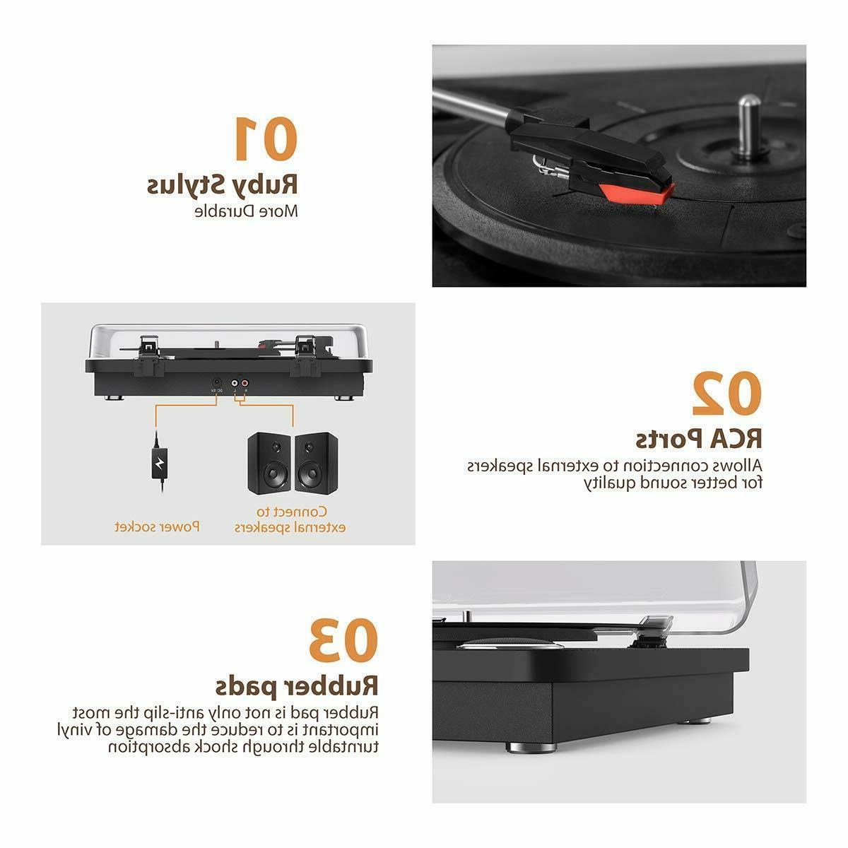 Vinyl Speed Player