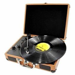New Pyle 3-Speed Record Player Turntable Vinyl to MP3 RCA US