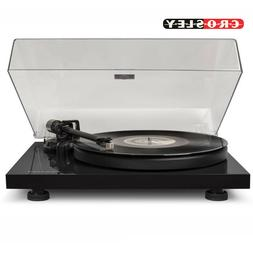 NEW Crosley C6A-BK Pro Series 2 Speed Turntable Record Playe