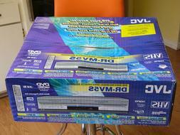 NEW JVC DR-MV5S Dubbing VHS DVD Recorder Player HiFi Stereo