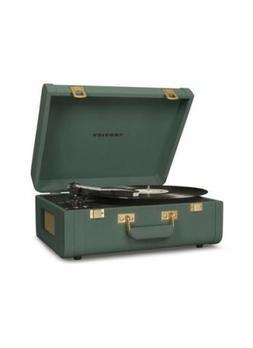 New funky color Quetzal Crosley record player  PORTFOLIO Blu