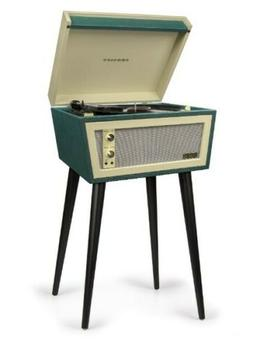 New 1960's style Crosley Sterling green cream 2 speed record