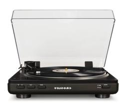 NEW Crosley T400A-BK Component Turntable 2 Speed Record Play