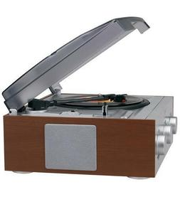 3-Speed Stereo Turntable with AM/FM Stereo Radio