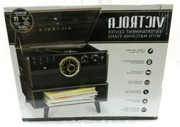 Victrola Turntable 6-in-1 Wood Bluetooth Record Player 3-Spe