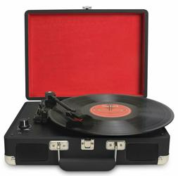 Jorlai / Musitrend Turntable Portable Suitcase Record Player
