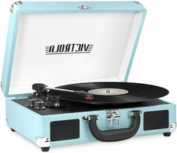 Victrola Vintage 3-Speed Bluetooth Portable Suitcase Record