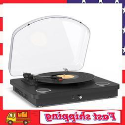 Vinyl Record Player 3 Speed Turntable Bluetooth Record Playe